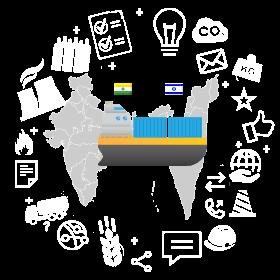 Доставка контейнера из Израиля и Индии в Беларусь