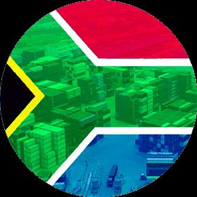 Контейнерные перевозки из ЮАР