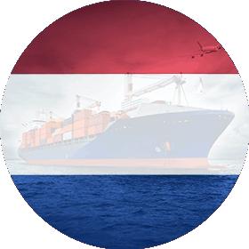 Контейнерные перевозки Нидерланды, морские перевозки из Голландии