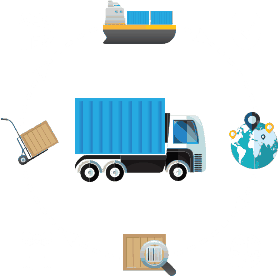 Container Road Transport, FCL Cargo Handling in Odessa