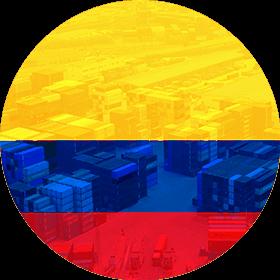 Контейнерные перевозки из Колумбии, стоимость морской перевозки через порт Одесса и Черноморск