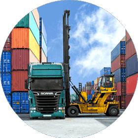Доставка контейнеров автотранспортом Украина
